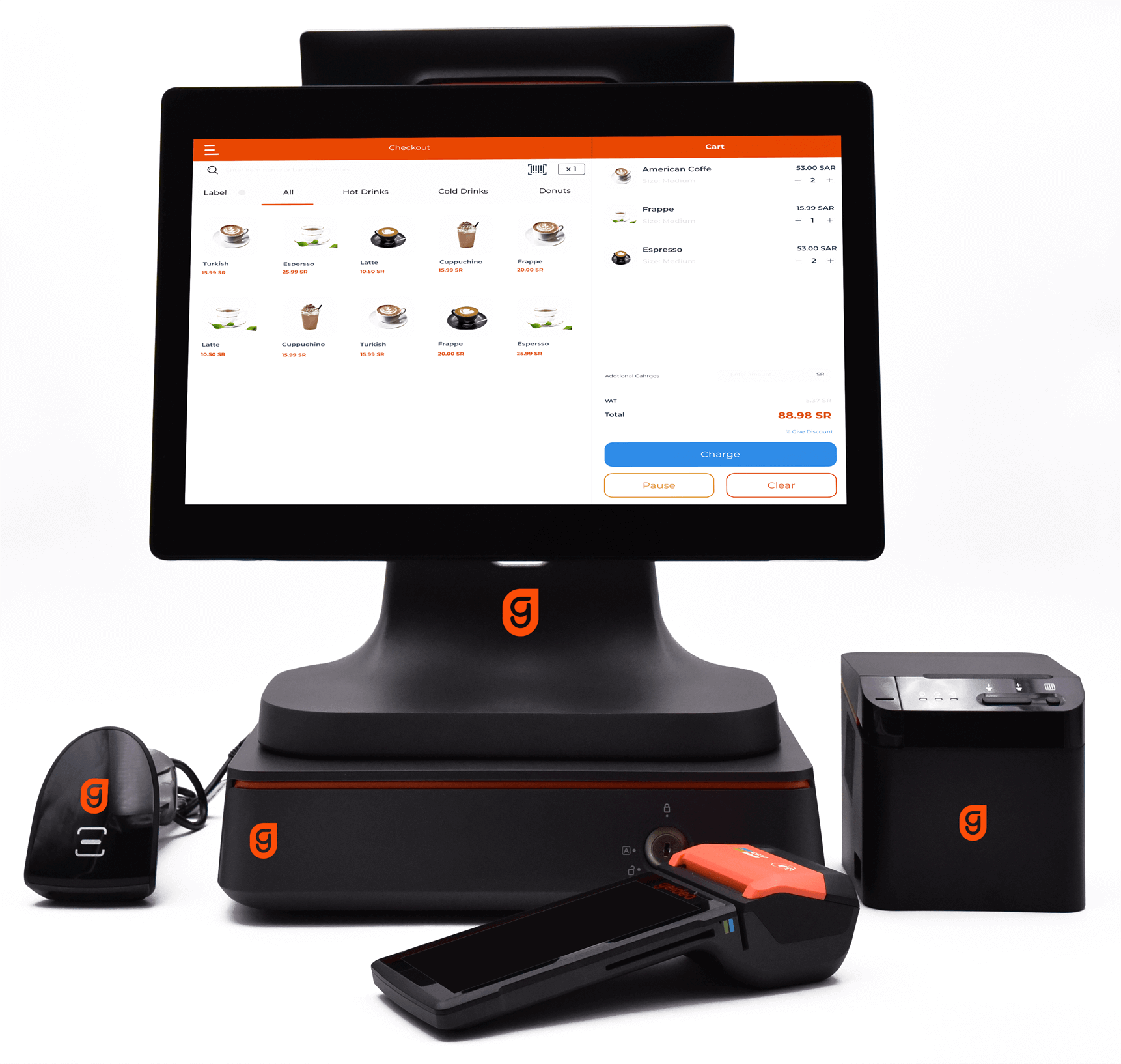 pos device for retails